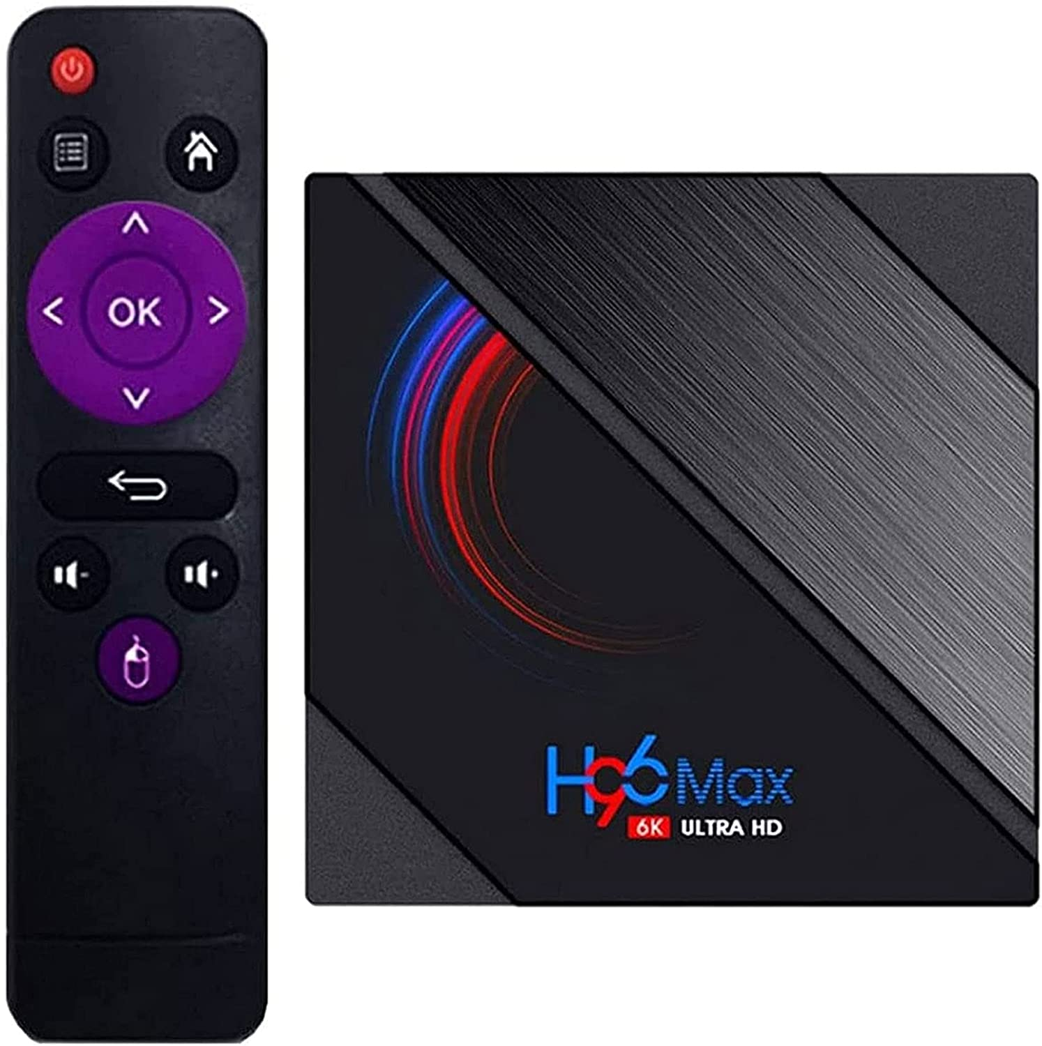 TENJONG H96 Max H616 TV Network Today's only Box 4GB+32GB,6K Dual- Ranking TOP5