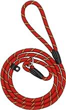 Coolrunner 5 FT Nylon Dog Leash, Pet Slip Lead, Heavy Duty Dog Rope, Standard Adjustable Dog Training Leash for Small & Medium Dogs(10-80 lb)
