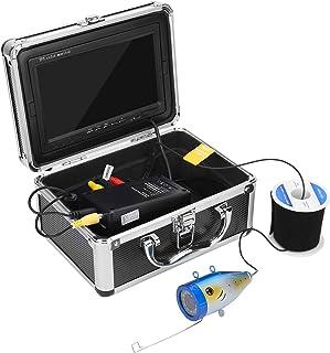 Dioche Cámara de Pesca subacuática de 7 Pulgadas, Monitor de Pesca, cámara de sonda con Pantalla a Color TFT, cámara de Co...