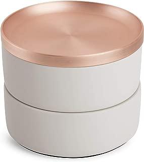 Umbra 299470-633 Tesora Box, Concrete/Copper