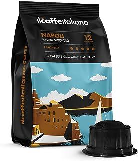 FRHOME - Caffitaly 6,8 x 100 Càpsulas compatibles - Il Caff