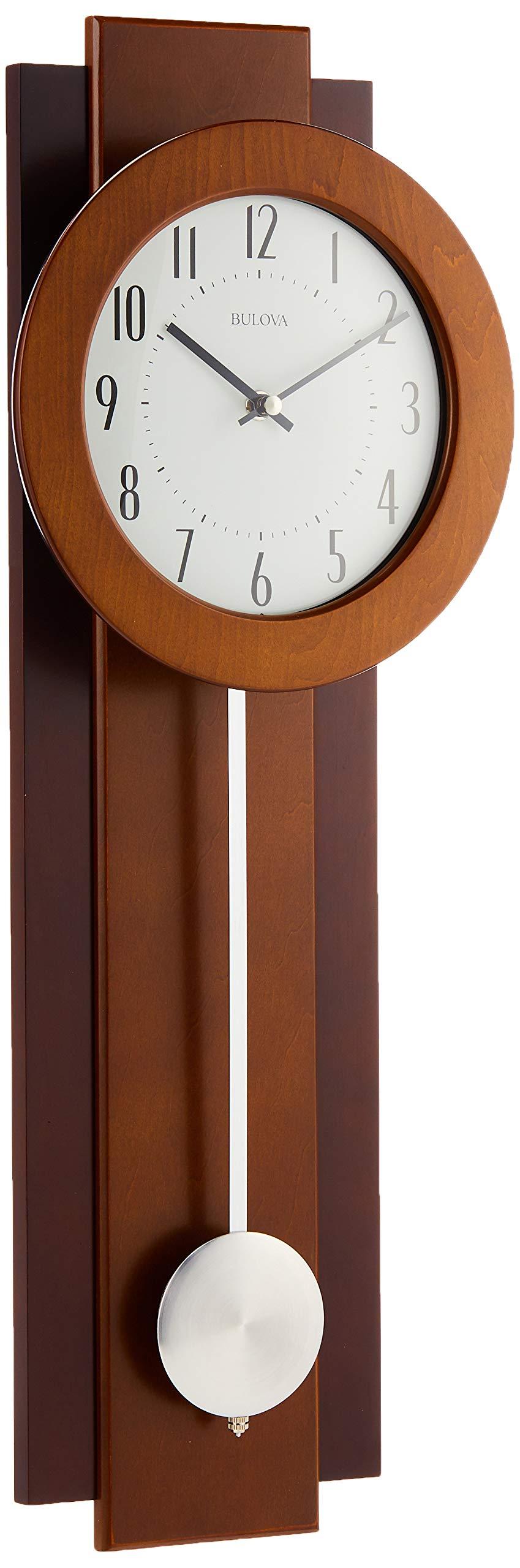 12.75-Inch Trademark Poker Pool Rack Quartz Clock with Solid Wood Frame