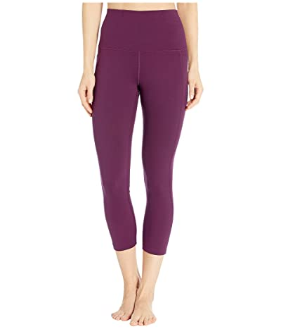Lorna Jane All Day Pocket 7/8 Leggings (Pinot) Women