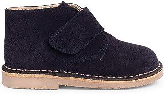 Pisamonas Suède Desert Boots Bottines Chukka à à Scratch pour Enfants