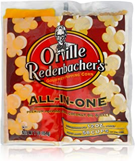 Orville Redenbacher's All in One Coconut Oil Popcorn Kit, 16 Ounce (Pack of 24)
