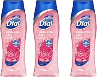 Dial Skin Therapy Replenishing Body Wash, Himalayan Pink Salt & Water Lily, 16 Oz (Pack of 3)