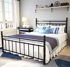 Best wrought iron headboard and footboard queen Reviews