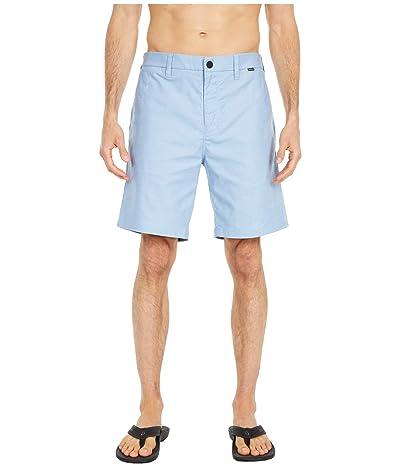 Hurley Dri-Fit Breathe 19 Walkshorts (Stone Blue) Men