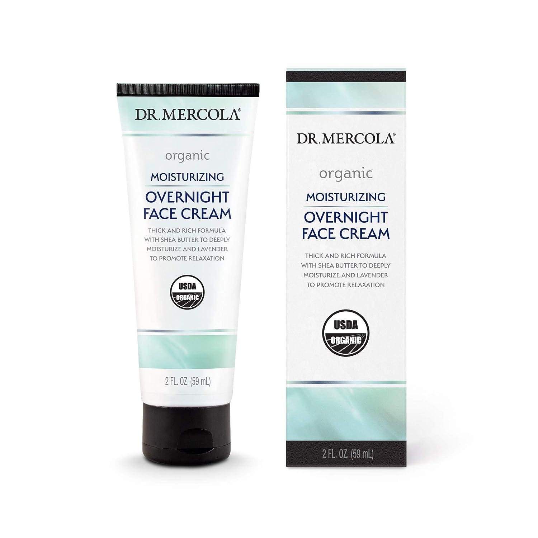 Dr. Elegant Mercola Organic Moisturizing Overnight Cream 2 Tube 1 lowest price Face