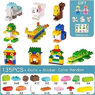 YOUPIN 277PCS Compatible with Duploed Building Blocks Animals Figurine Classic City Bricks Consturction Educational Toys F...