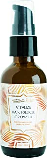 Naturelle Health's Vitalize Hair Growth Serum With Vitamins - 28 Proven Ingredients with One Single Goal - Accelerated Hair Growth With Natural Thick and Vibrant Hair