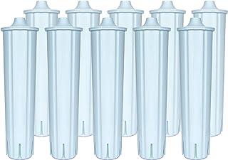 Lot de 10 filtres à eau compatibles avec les cartouches filtrantes Jura Claris Blue IMPRESSA ENA GIGA pour machine à café ...