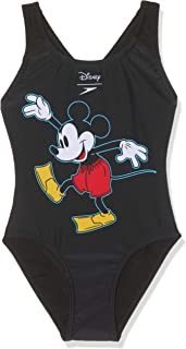 Speedo Girls' Disney Mickey Mouse Swimsuit