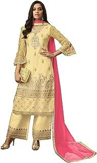 Comet Enterprise Net Sharara Salwar Suit (Free Size)