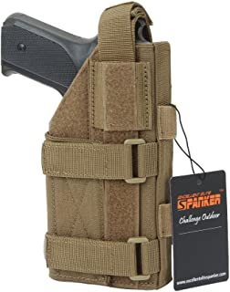 EXCELLENT ELITE SPANKER Tactical Adjustable Pistol Holster for M1911 G17 G18 G19 G26 G34 XD-45acp CZ P-10C