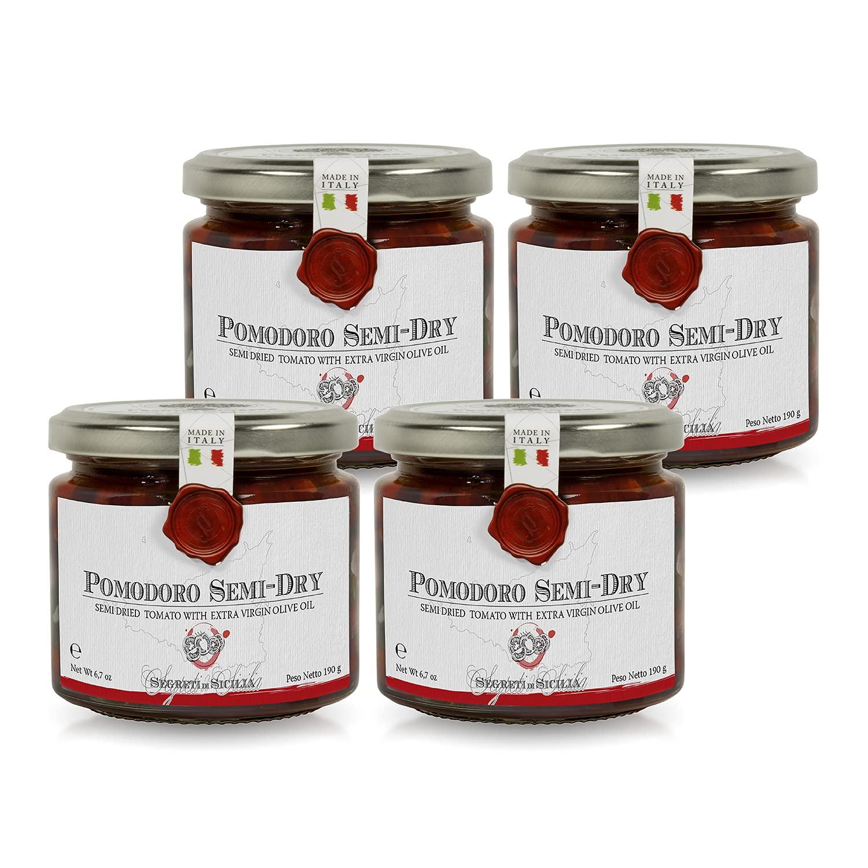 Frantoi Cutrera 4 years warranty - Pomodorino Semi Cherry Semi-Dried Toma Secco Max 88% OFF