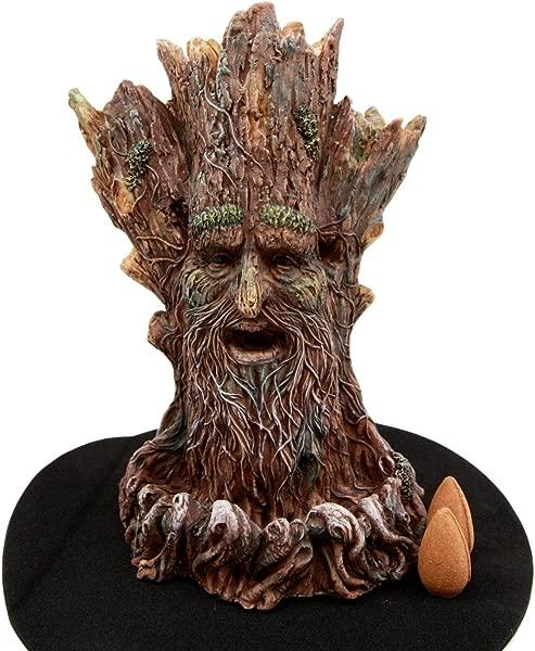 大西洋收藏品窃窃私语森林神秘格林曼倒流香筒香炉香气香味雕像 6 75 H