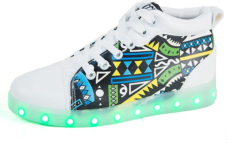 Jedi fight back Men's & Women's LED shoes Luminous Flashing Sneakers.