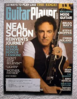 Journey - Neal Schon - Guitar Player Magazine - November 2008