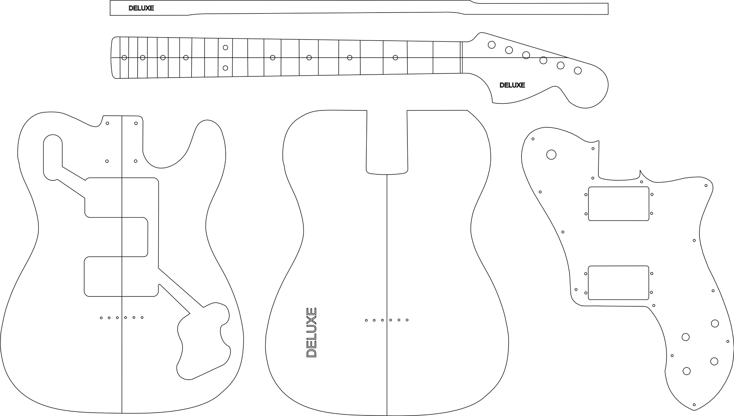 Cheap Electric Guitar Routing Template - DELUXE Black Friday & Cyber Monday 2019