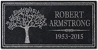 in Loving Memory Personalized Granite Memorial Stone Sympathy Remembrance Gift Dad Mom Child Memory