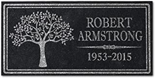 personalized memorial tree marker