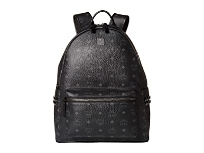 MCM Stark Backpack 40 (Black 1) Backpack Bags