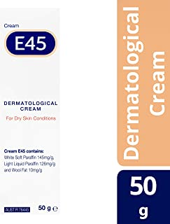 E45 Moisturizing Cream for Dry Skin and Eczema, 50g