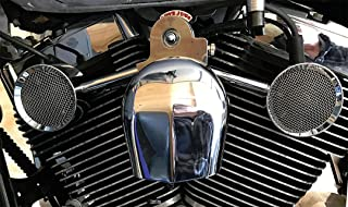 Love Jugs Mighty Mites Chrome V-Twin Engine Cooling System for 1999-2013 Harley Softail, Dyna and Touring Models