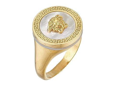 Versace Medusa Pearl Cut Ring