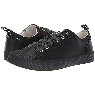 Palladium Pallaphoenix Low Leather (Black/Marshmallow) Lace up casual Shoes