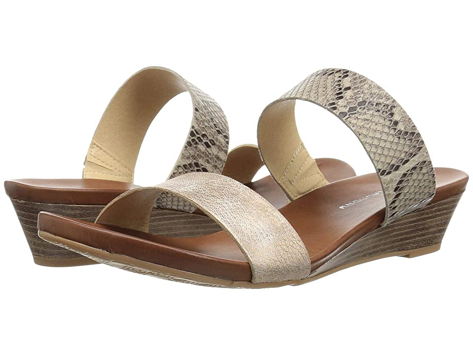 CL By Laundry Aneesa (Rose Gold/Beige Snake) Women