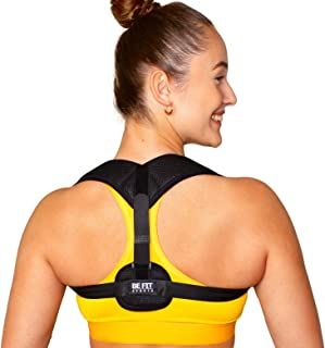The BEST Posture Corrector for Men and Women, Adjustable Back Support Brace, Washable - Helps Relieve Back Pain and Neck P...