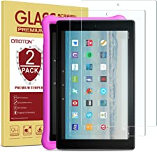 [2-Pack] OMOTON Screen Protector for Fire HD 10 / Fire HD 10 Kids Edition 9th and 7th Generation (2019 and 2017 Release), ...
