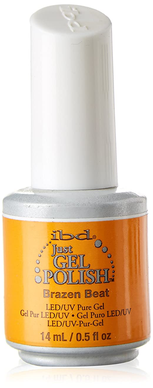 スタイル起きろエールibd Just Gel Nail Polish - Brazen Beat - 14ml / 0.5oz