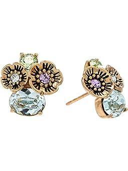 코치 귀걸이 COACH Garden Party Cluster Earrings,Multi
