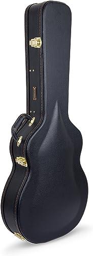 Crossrock Semi-Hollow & Hollowbody Electric Guitar Case in Black, Fits 335 style(CRW600SABK)