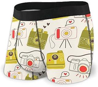 Men's Boxer Briefs Hip Underwear With Comfort Waistband Portrait Collection