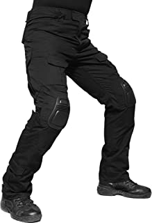 TACVASEN 迷彩 コンバット パンツ アウトドア サバゲー 迷彩服 ミリタリー マルチカム コンバット メンズ マルチカモ迷彩 ロングパンツ 作業用
