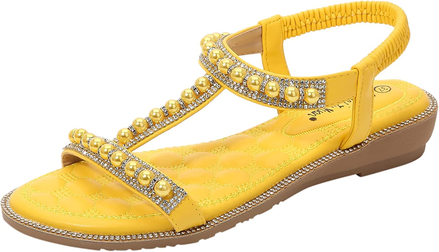 USYFAKGH Sandals For Women Casual Summer Shoes Sandals For Women