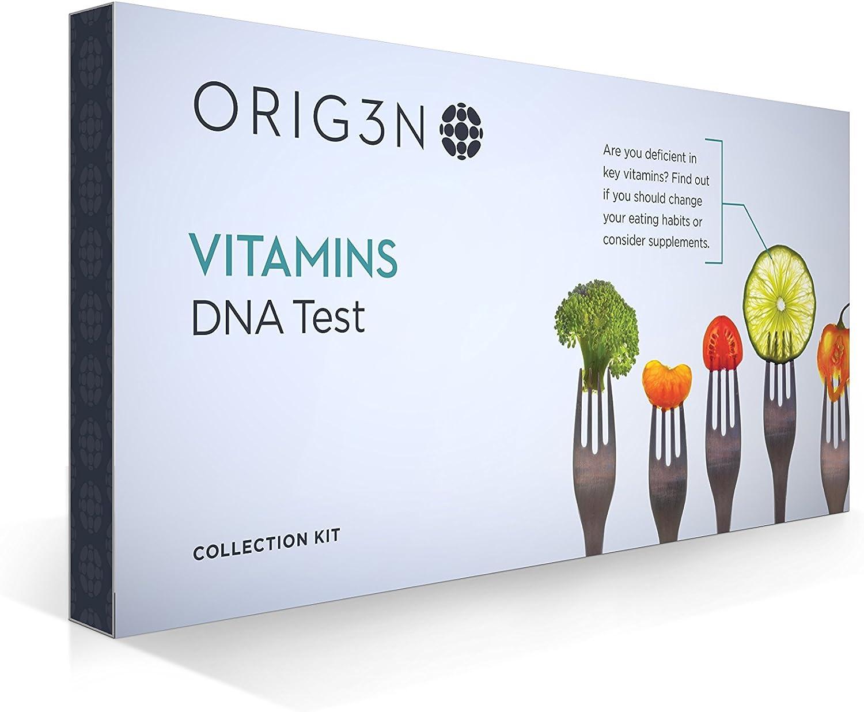 San Francisco Mall Max 64% OFF ORIG3N GeneticHome Mini DNA Vitamins Kit Test