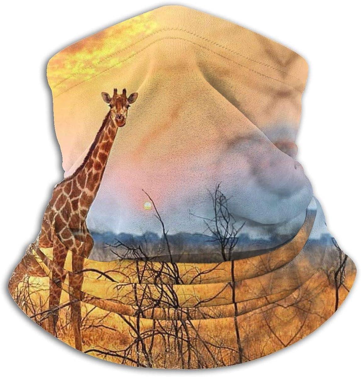 Giraffe Neck Gaiter Headwear Bombing free shipping Headband Wrap Head 100% quality warranty! Mask Scarf