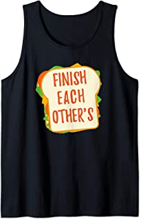 We Finish Each Other's Sandwiches| Men and Women Princess Tank Top