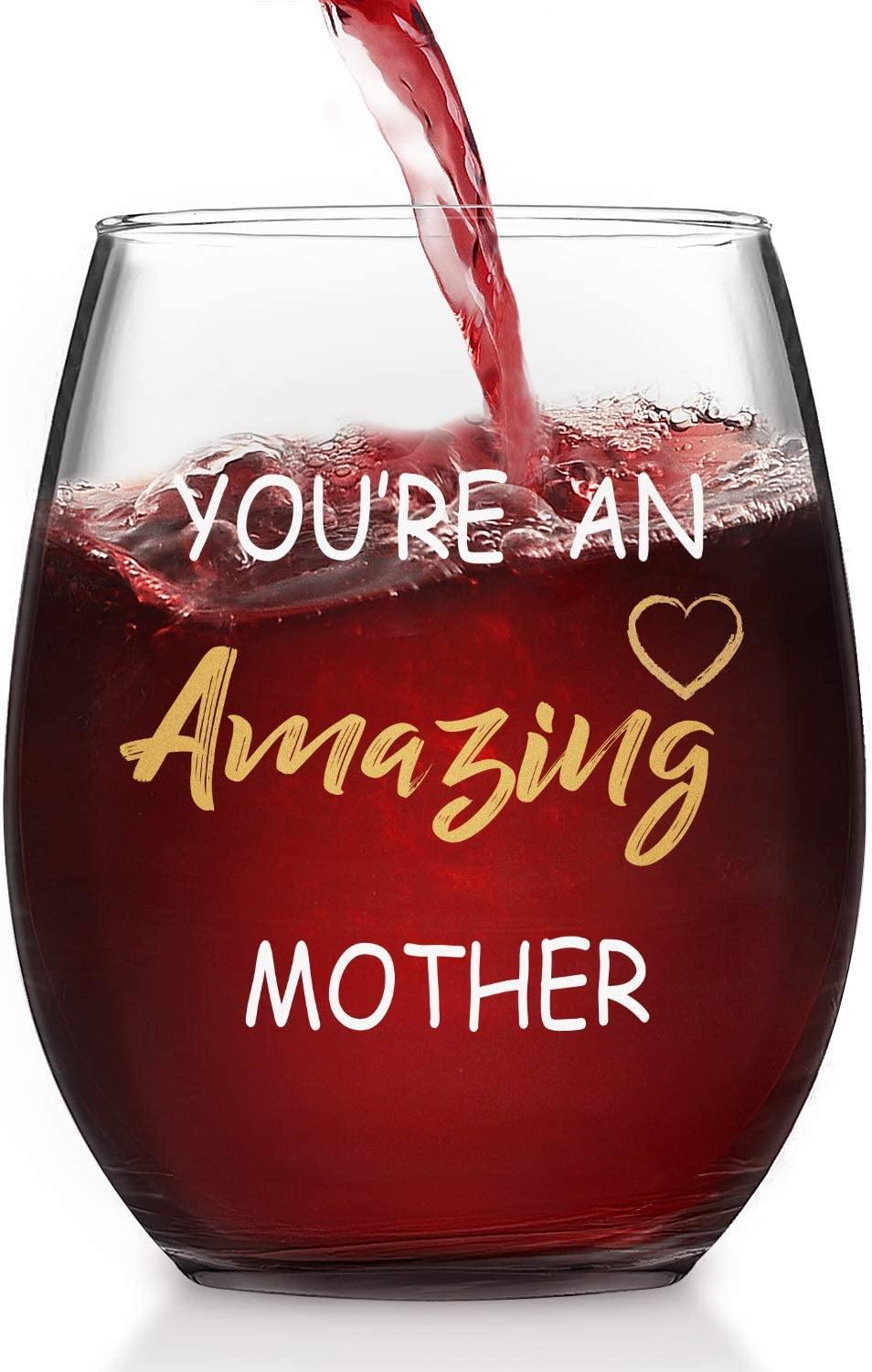 You're an Amazing Mother Stemless Mother's Surprise Purchase price Day Glass Wine W