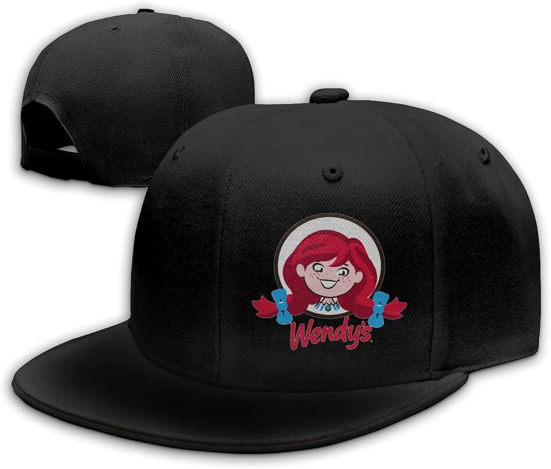 Wendy's Love Her Fried Chicken Burger Coke Unisex Cotton Baseball Cap Adjustable Moisture Wicking Flat Hat Cap Snapback
