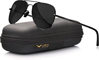 Aviator Sunglasses for Men Polarized - UV 400 Protection...