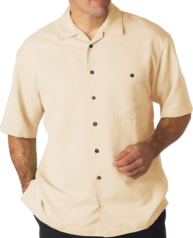 FOXFIRE Big & Tall Men's Casual Cabana Shirt - Relaxed Fit