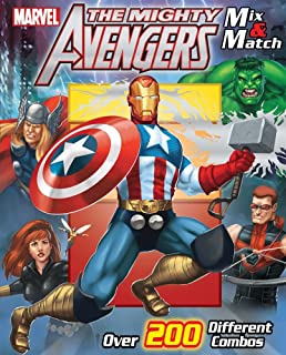 Marvel the Mighty Avengers Mix & Match (Mix and Match)