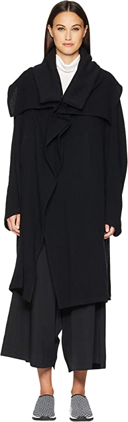 U-Knit Collar Cape