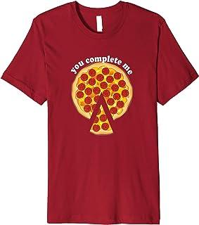 You Complete Me - Romantic Pepperoni Pizza T-Shirt